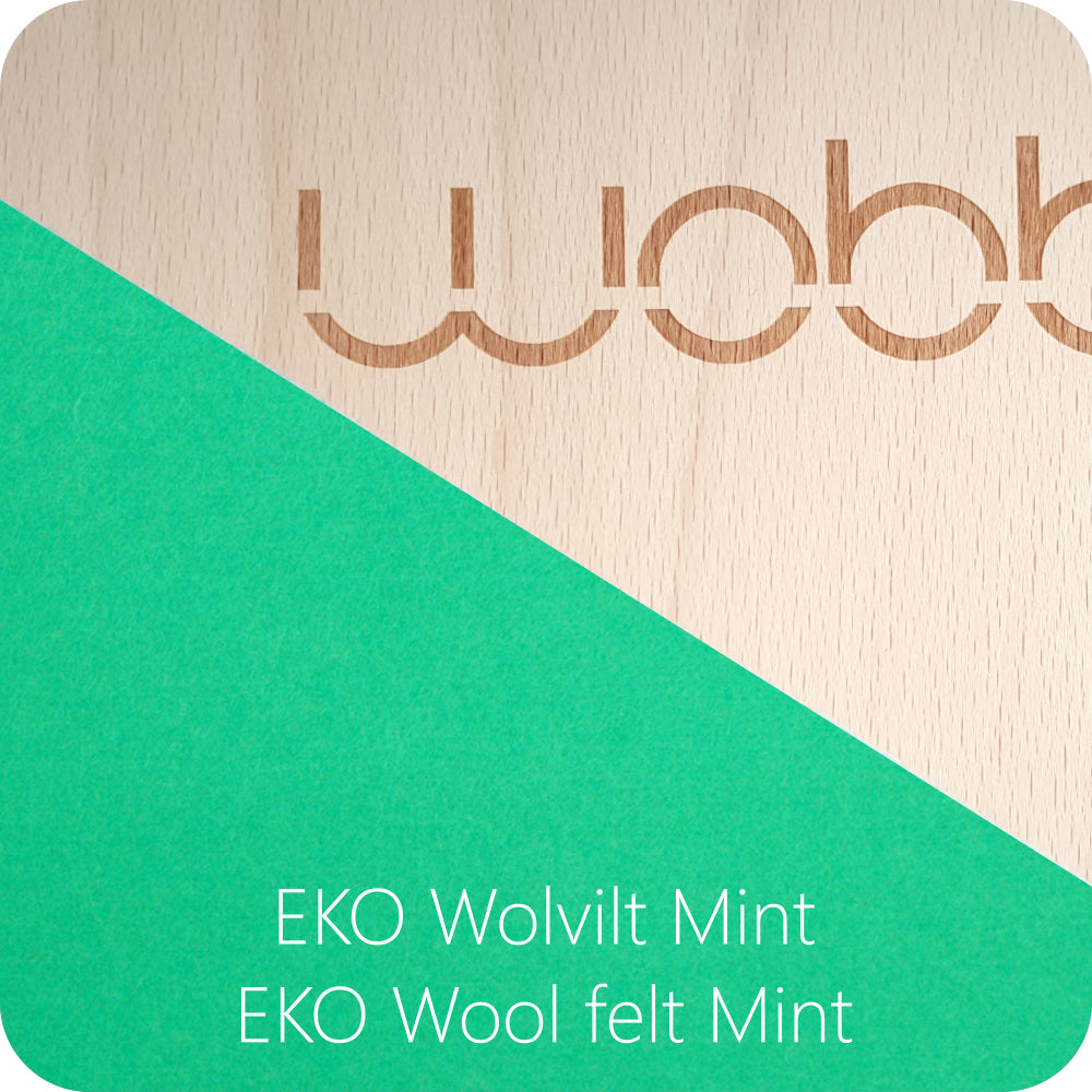 Wobbel Original transparent - Menthe