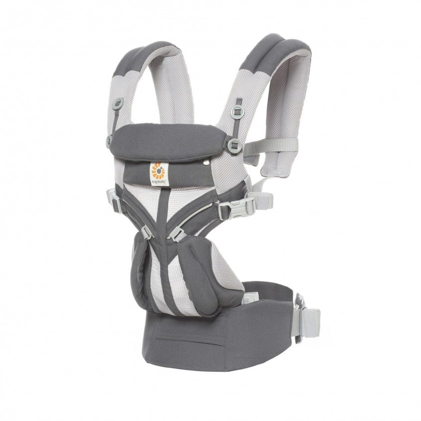 Porte-bébé Omni 360 Cool Air Mesh Carbon Grey - Ergobaby