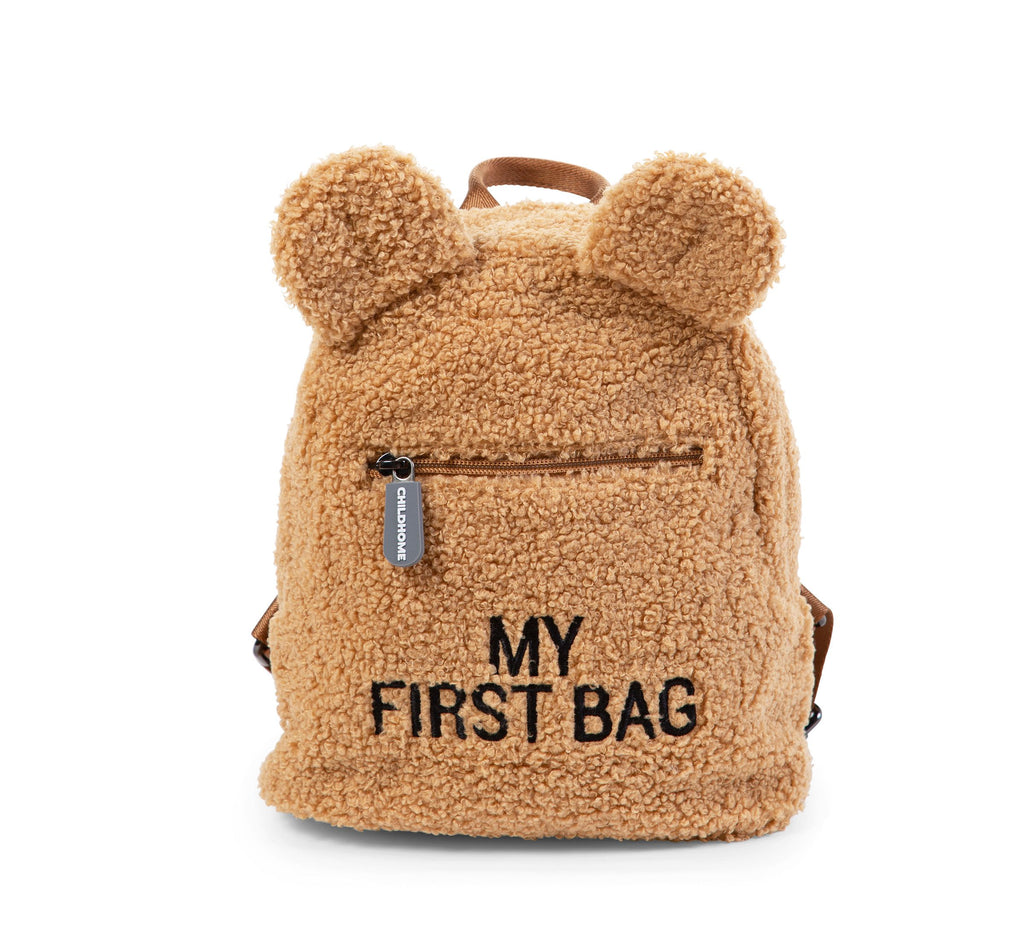 "Sac à dos enfant ""My first bag"" Teddy Beige"