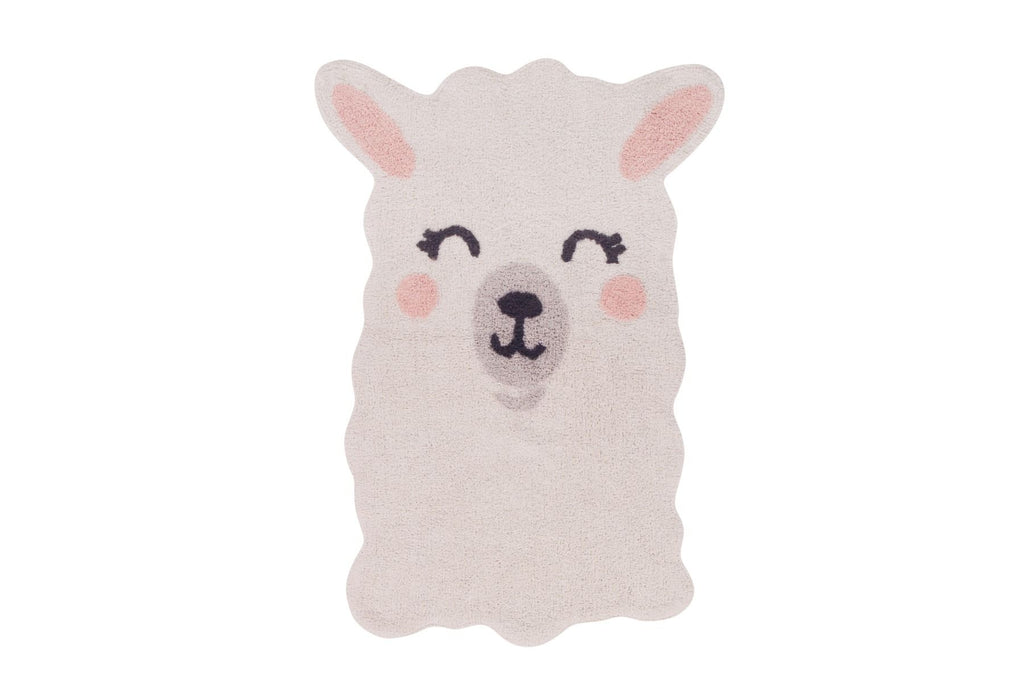 Tapis lavable Smile Like a Lama - Lorena Canals