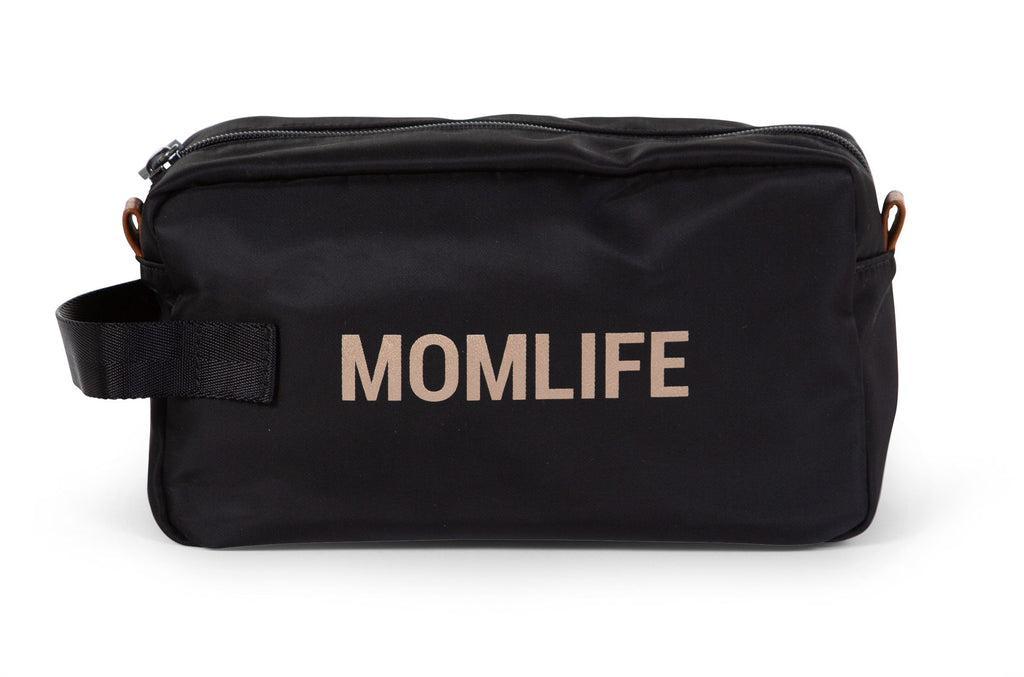 Trousse de toilette Momlife - Noir / Or