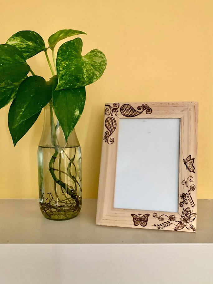 Photo Frame - Floral Design