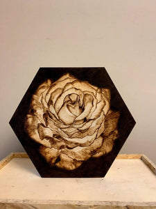 Hexagon Rose