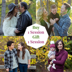 Buy 1 Portrait Session, Gift 1 To Someone Special