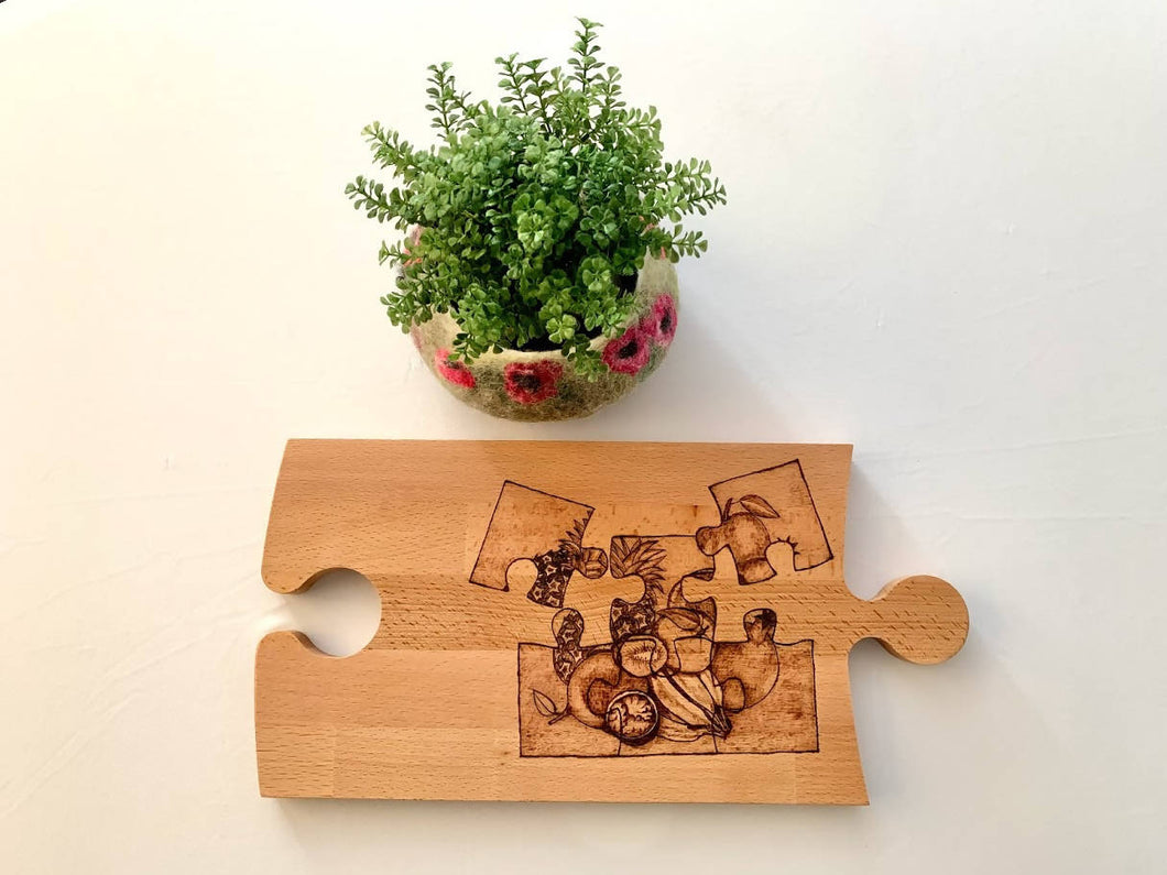 Cutting board - Jigsaw