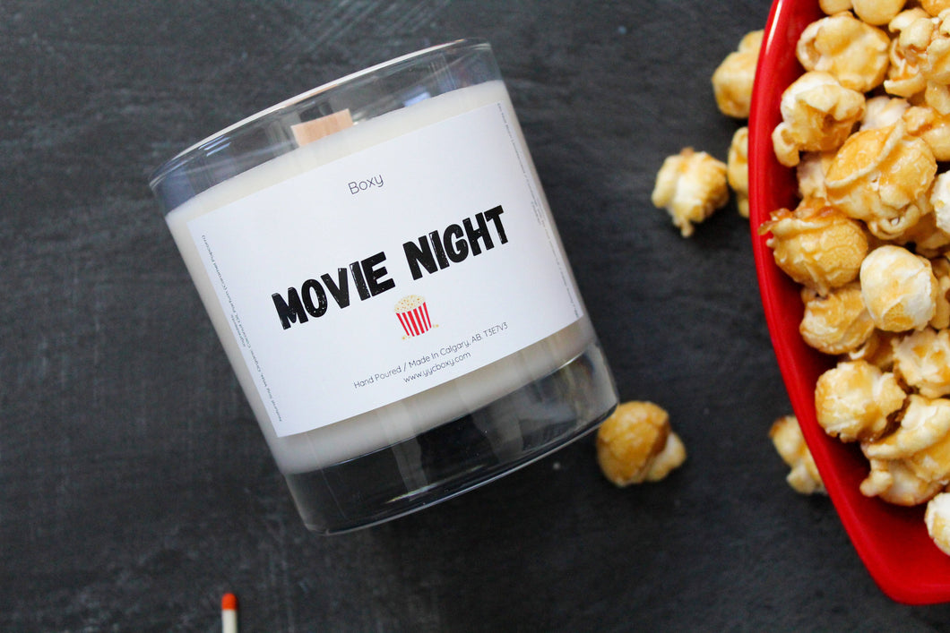 Movie Night Candle