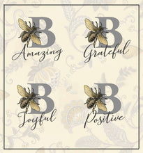 Load image into Gallery viewer, Mug Mat - Be Inspired - Sunny Bees