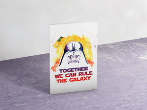 Together We Can Rule The Galaxy Card