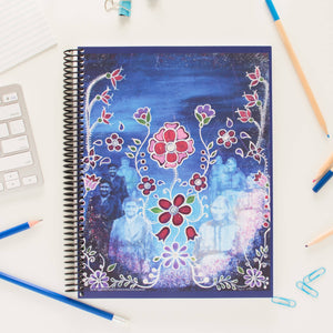 """All my Grandmothers Flowers"" Notebook - 120 pages"
