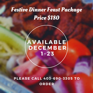 Festive Evening Holiday Feast Package