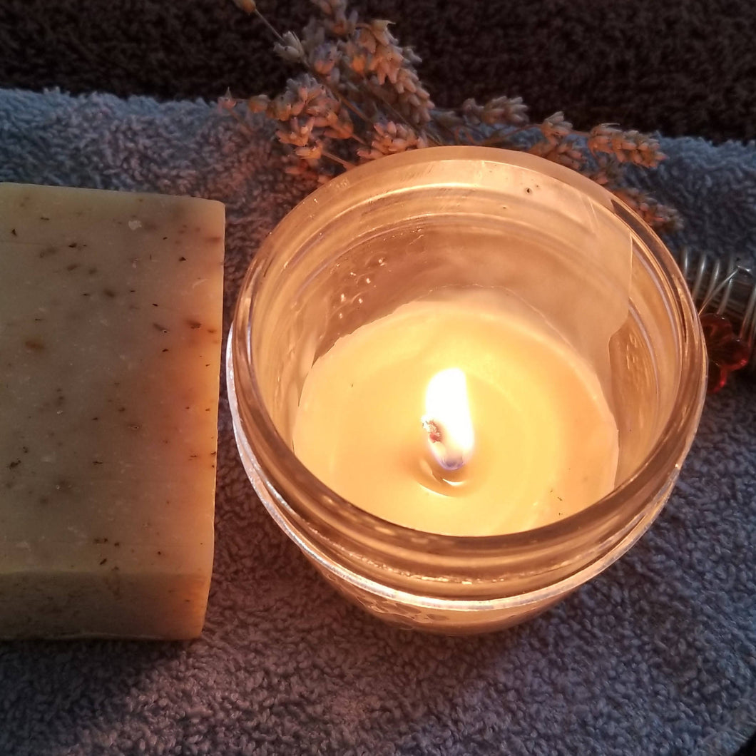 Natural Beeswax Massage Candle