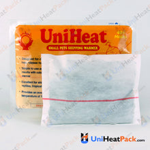 Load image into Gallery viewer, UniHeat 40 hour inside view of shipping warmer pouch.