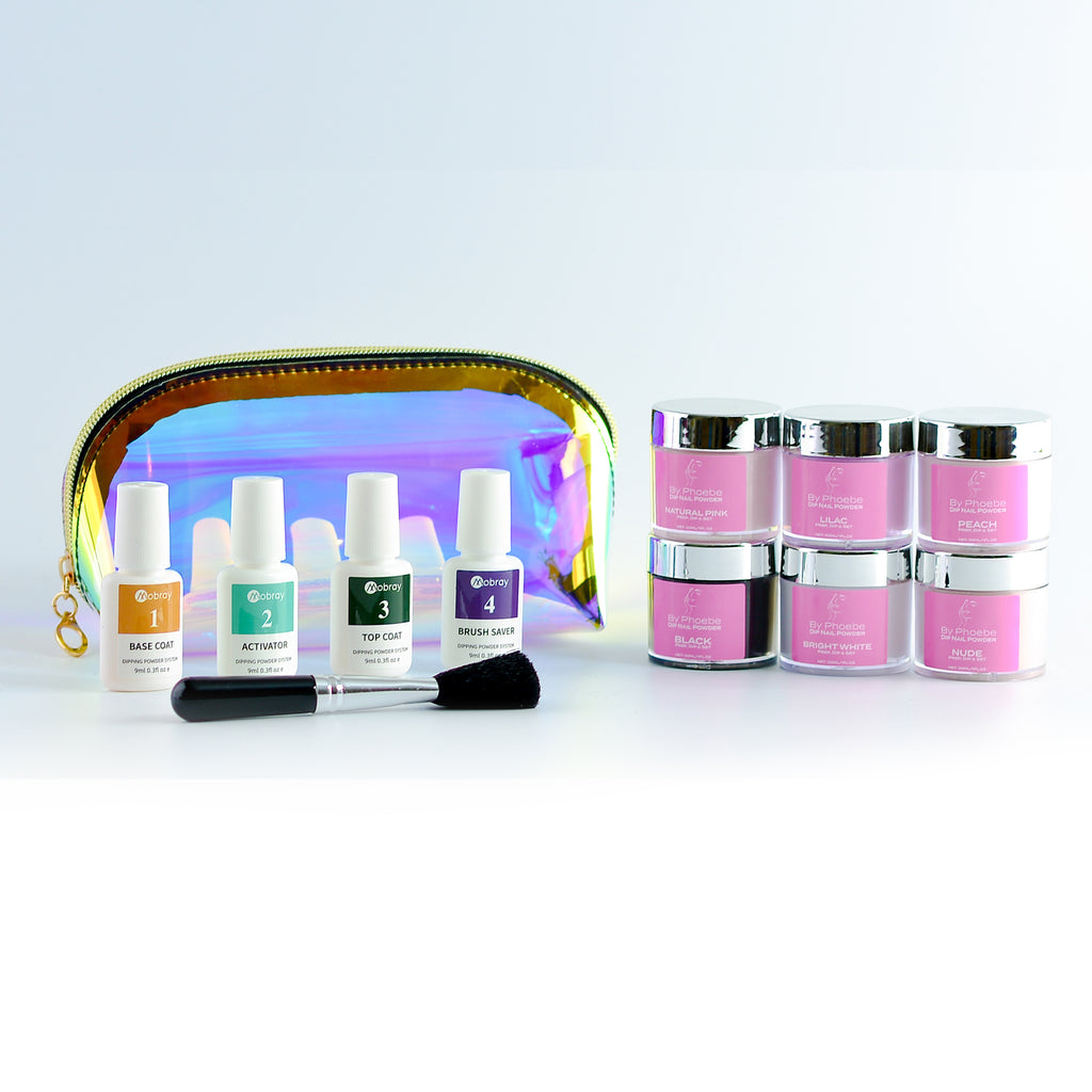6 Shade - Dip Nail Powder System