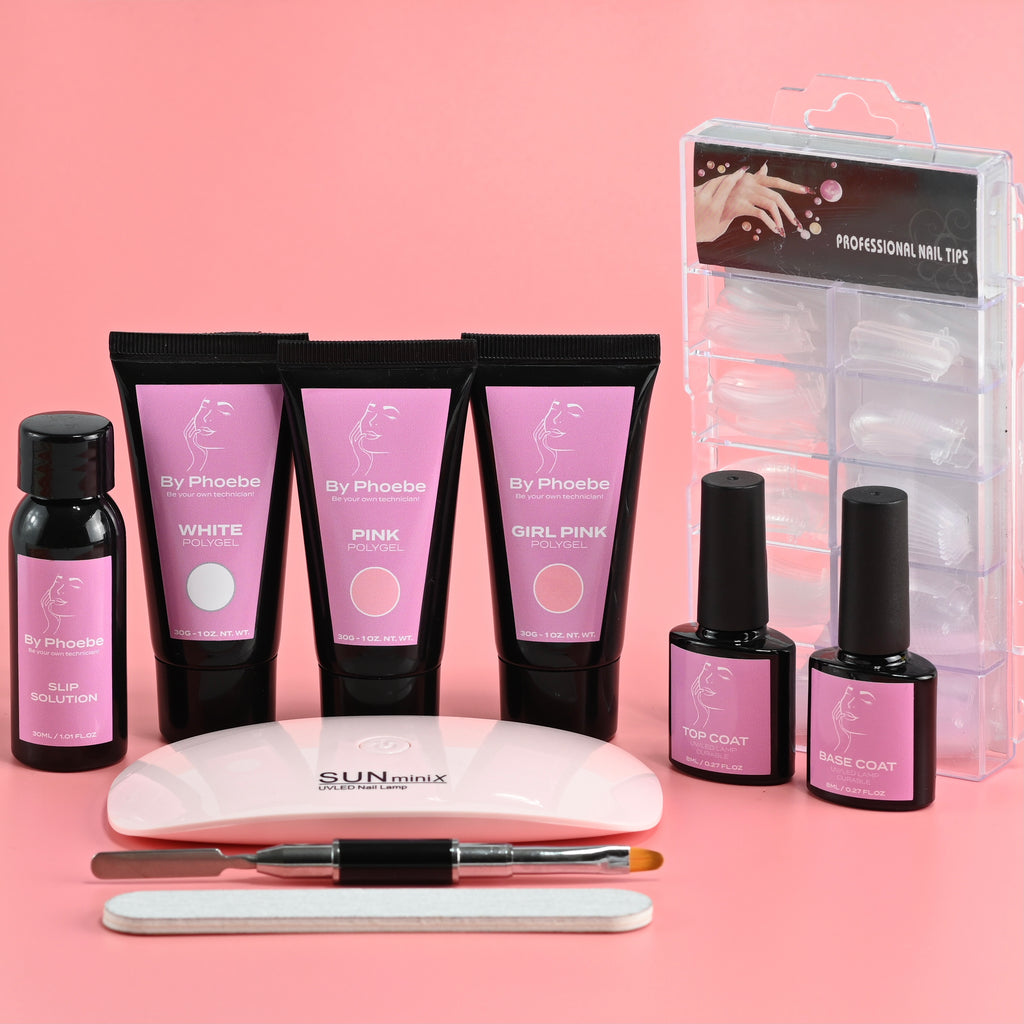 Complete PolyGel Nail Kit