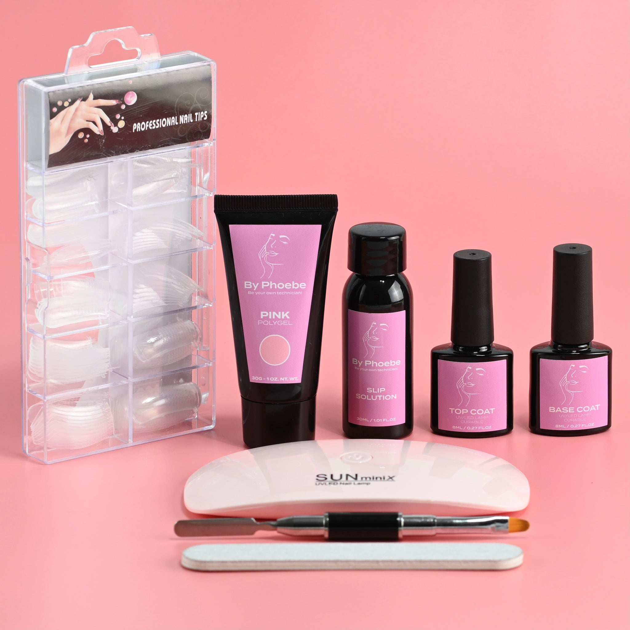 Starter PolyGel Nail Kit