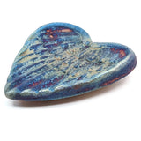 Angel Wing Raku Pottery Blessed Heart