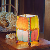 Mini Square Multi Color Leaf Lamp