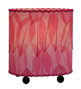 Mini Guyabano Pink Leaf Lamp