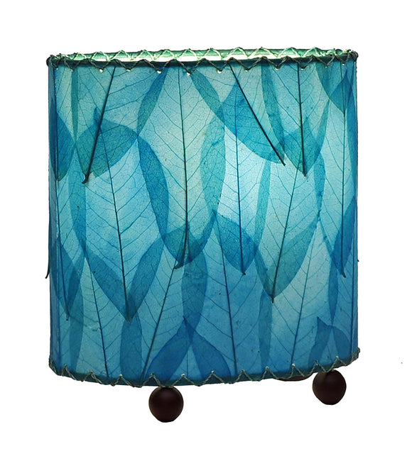 Mini Guyabano Sea Blue Leaf Lamp