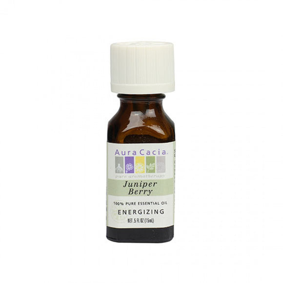 Aura Cacia Juniper Berry Essential Oil 0.5 fl. oz.