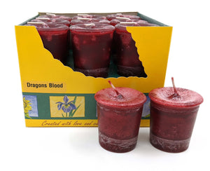 Crystal Journey Votive Dragon's Blood