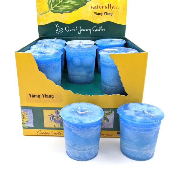 Crystal Journey Votive Ylang Ylang