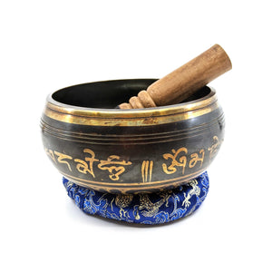 Large Ganesha Singing  Bowl