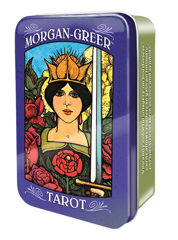 Morgan-Greer Tarot Deck in Tin