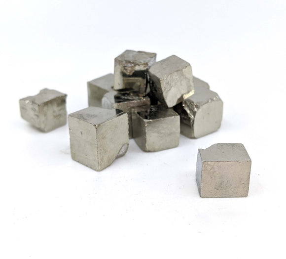 Pyrite Crystal Cubes 1pc.