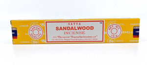 Satya Sandalwood Incense Sticks (15 gm)