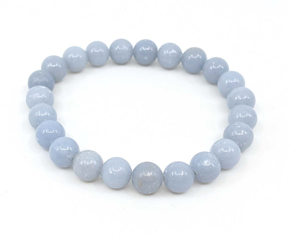 Angelite 8mm Stretch Bracelet