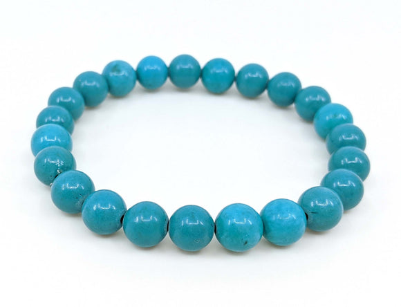 Howlite (dyed) 8mm Stretch Bracelet