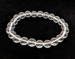 Quartz 8mm Stretch Bracelet