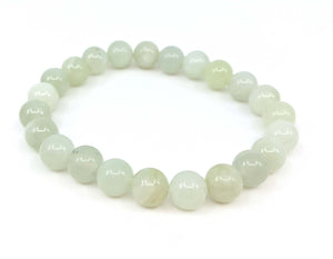 New Jade (Serpentine) 8mm Stretch Bracelet