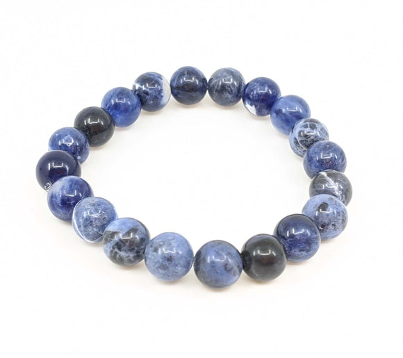 Sodalite 8mm Stretch Bracelet