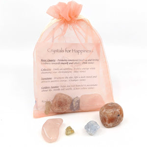 Happiness Energy Stone Pouch