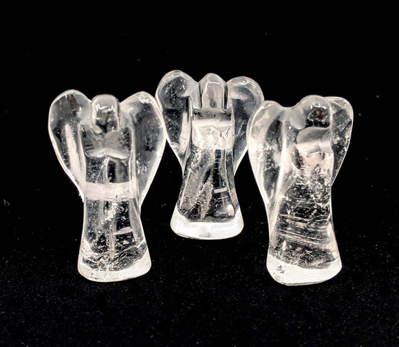 Quartz Carved Angels Small Size