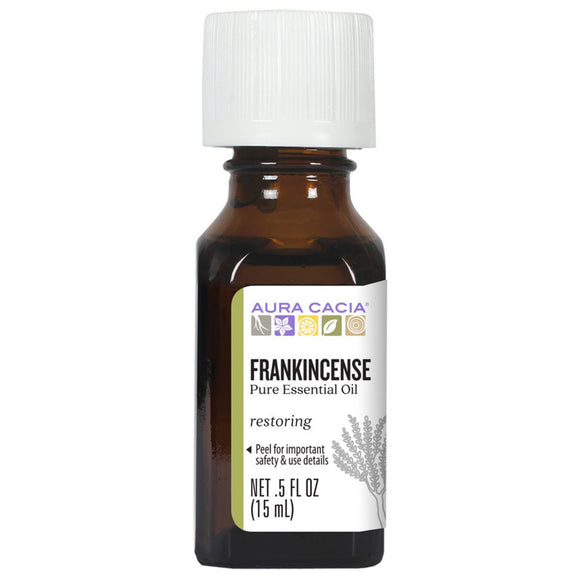 Aura Cacia Frankincense Essential Oil 0.5 fl. oz.