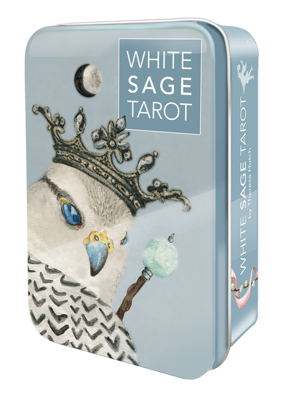White Sage Tarot with Tin