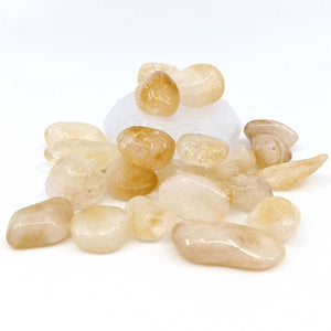 Citrine Tumble Polished 1pc.