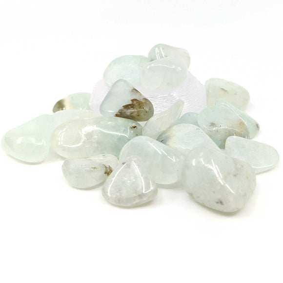 Prehnite Tumble Polished 1pc.