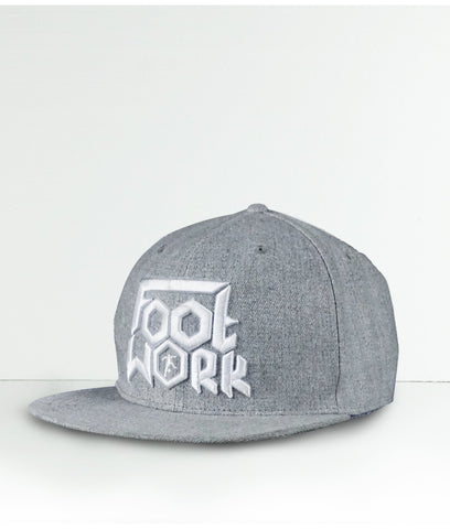 Cappello Footwork Grigio 6 Pannelli -CAPPELLO-FOOTWORK SHOP