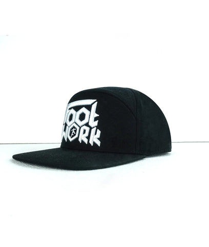 Cappello Footwork Nero 7 Pannelli -CAPPELLO-FOOTWORK SHOP