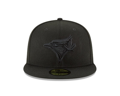 Toronto Blue Jays Black on Black 59fifty Fitted Hat