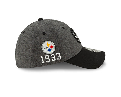 Pittsburgh Steelers New Era Official NFL Sideline Road 39Thirty Stretch Fit