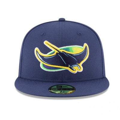 Tampa Bay Rays New Era Alternate Authentic Collection On-Field 59FIFTY Fitted Hat - Navy