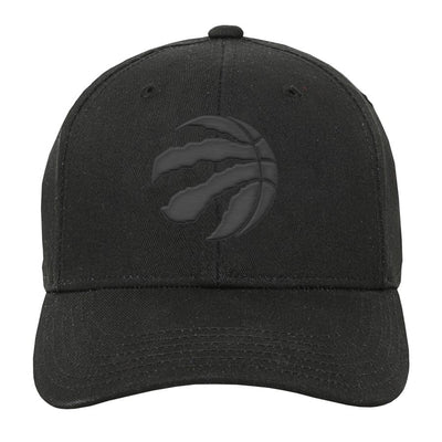Youth Toronto Raptors Blk/Gry Precurve Hat