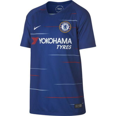 Youth Chelsea Nike 2018/19 Home Replica Jersey - Blue