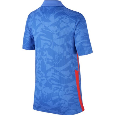 Youth England 2020 Stadium Away Blue Euro Nike Jersey