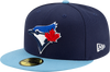 Toronto Blue Jays Navy/ Light Blue New Alternate 4 Authentic Collection On-Field New Era - 59FIFTY Fitted Hat